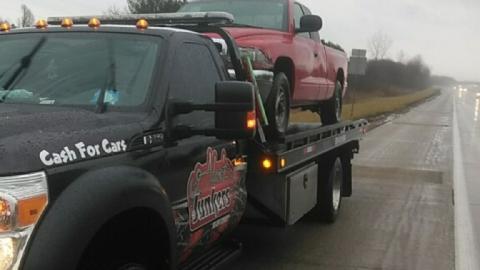 Scrap Dodge Truck
